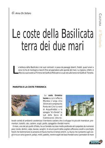 Le Coste della Basilicata terra dei due mari