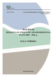 Malienas atkritumu apsaimniekošanas reģiona ... - Vides ministrija