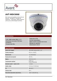 AVT-MDV3000 - CCTV Center
