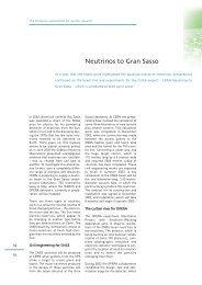 Neutrinos to Gran Sasso - CNGS - CERN