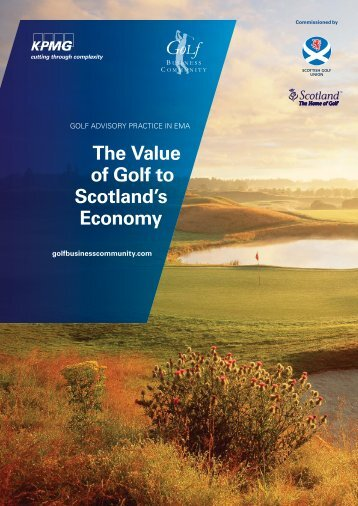 The value of golf to Scotland's economy - Evaluations Online