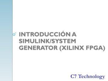Desarrollo en Matlab/Simulink y su implementación en FPGA