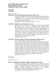 Seminars - BT 1