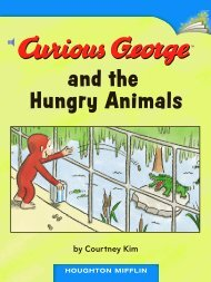 Lesson 20:Curious George and the Hungry Animals