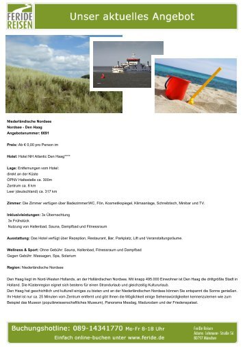 Niederländische Nordsee - Eventreisen - Trierischer Volksfreund
