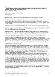"""""""Sistemi di gestione e modelli organizzativi per l'edilizia ... - Casa spa"""