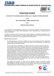position_paper_-_mat.. - Engineered Wood Products Association of ...