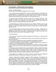 EL EXTRUSADO – PRENSADO DEL POROTO ... - Mercosoja 2011
