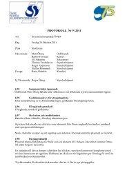 Styrelsemöte 9