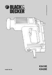 Türkçe - Black & Decker