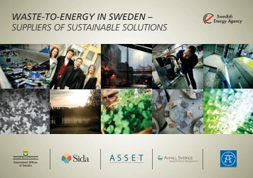 WASTE-TO-ENERGY IN SWEDEN - Cleantech Östergötland