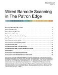 The Patron Edge Barcode Scanning Guide - Blackbaud, Inc. - Page 5