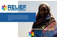 2009 Annual Report (PDF) - Relief International
