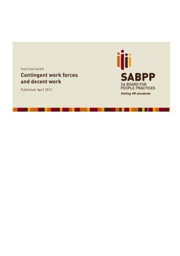 Read more… - SABPP