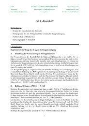14. Verwaltungsrecht BT - Lösung 1 - Universität Bayreuth