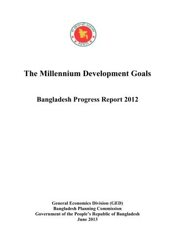 MDG Report 2012 - United Nations in Bangladesh