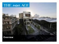 The Age Short Credentials - Fairfax Media Adcentre