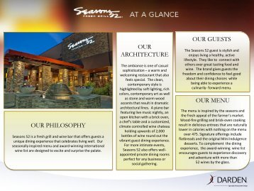 Seasons 52 - Darden Restaurants