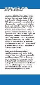 Roncar y apnea del sueño - American Academy of Sleep Medicine - Page 3