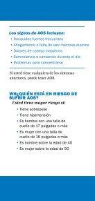 Roncar y apnea del sueño - American Academy of Sleep Medicine - Page 4