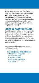 Roncar y apnea del sueño - American Academy of Sleep Medicine - Page 5