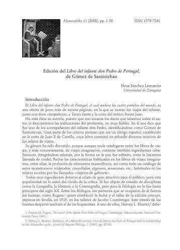 Edición del Libro del infante don Pedro de Portugal, de ... - Parnaseo