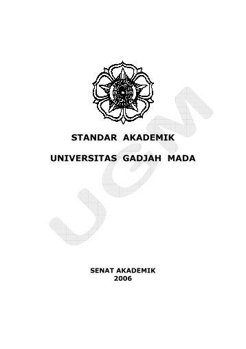 Standar Akademik - Kantor Jaminan Mutu - Universitas Gadjah Mada