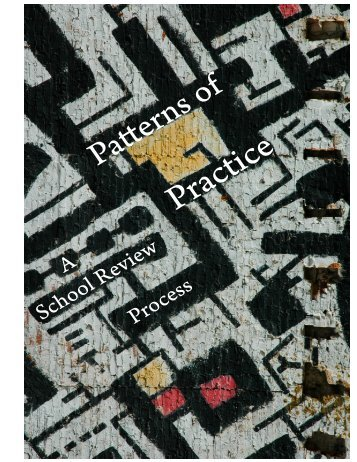 Patterns of Practice (pdf) - Center on Innovation and Improvement