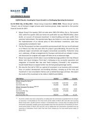 MSN 1Q13 Earnings Release - Masan Group