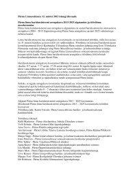 Ülevaade Pärnu Linnavalitsuse 12. märtsi 2012 istungist