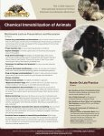With Our 16-Hour Chemical Immobilization Workshop! - School of ... - Page 2