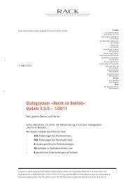 Anschreiben zum Update 1/2011 als PDF-Datei. - RACK ...