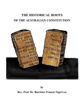 THE HISTORICAL ROOTS - The Works of F. N. Lee