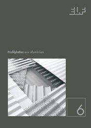 Profilplatten aus Aluminium - Fielitz GmbH Leichtbauelemente