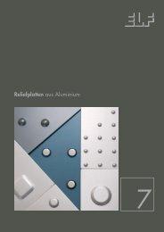 Reliefplatten aus Aluminium - Fielitz GmbH Leichtbauelemente