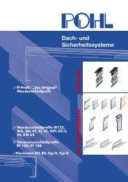 Dach- und Sicherheitssysteme An-/Abschlüsse ff-Profil - DDH