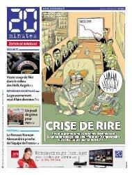 Un jeudi de grève pour rien P. 8 Le gouvernement ... - 20minutes.fr