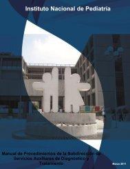 Manual de Procedimientos Subdirección de Servicios Auxiliares de ...