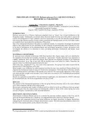 PRELIMINARY STUDIES ON Mulinum spinosum - Facultad de ...