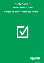 Pumps and motors management - Schneider Electric
