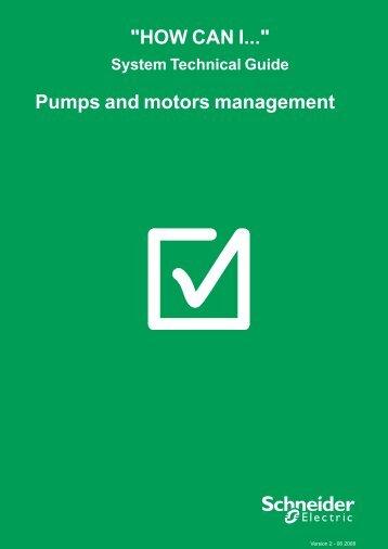 Pumps and motors management - Schneider Electric
