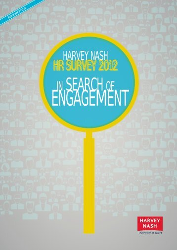 In search of engagement - Harvey Nash