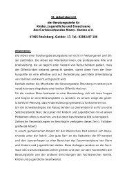 32. Arbeitsbericht der Beratungsstelle für Kinder, Jugendliche und ...