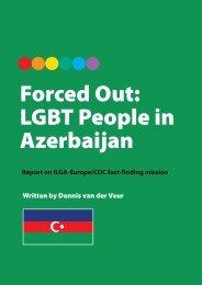 Forced Out: LGBT People in Azerbaijan - ILGA Europe