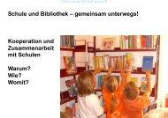 Zusammenarbeit Schule-Bibliothek _TN.pptx - Buchstart