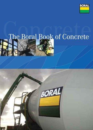The Boral Book of Concrete