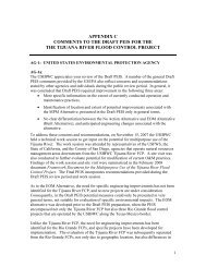 appendix c comments to the draft peis for the the tijuana river flood ...