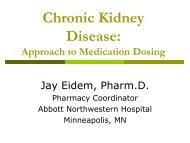 Med Dosing in Renal Failure - Abbott Northwestern Hospital Internal ...