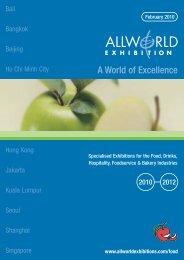 Allworld Food Calendar 2010 - 2012.indd - Allworld Exhibitions