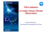 FIO's Initiative on Indian Ocean Climate Observation